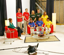 TV ad for Bingo.com shot at South Manchester Studios